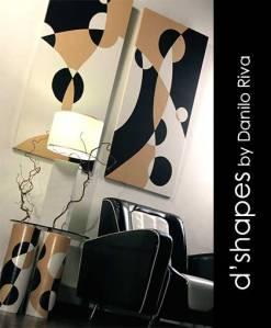 d'shapes pannelli decorativi 448-449